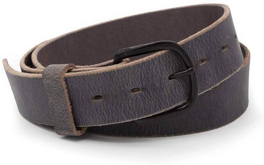 The Bootlegger Leather Belt