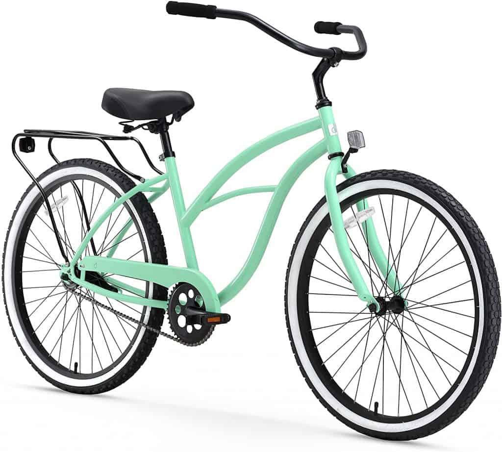 sixthreezero Around The Block Women Single-Speed Beach Cruiser Bicycle