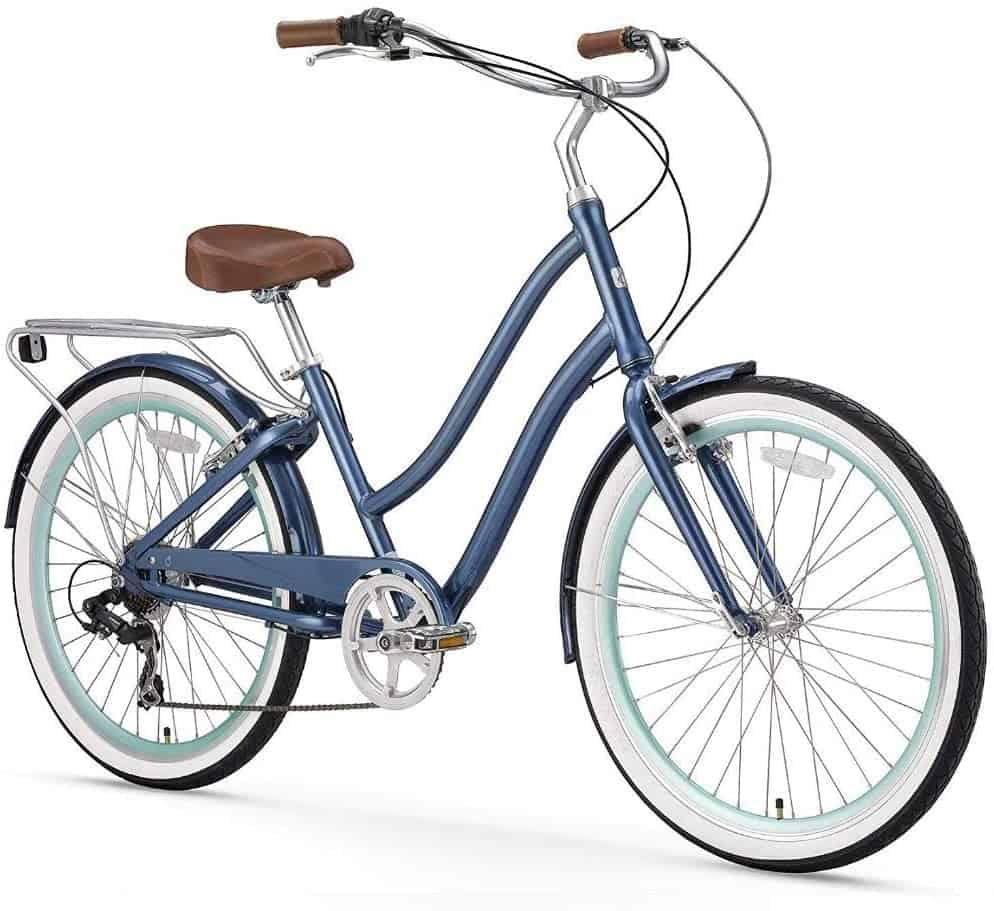 sixthreezero EVRYjourney Women Step-Through Hybrid Cruiser Bicycle