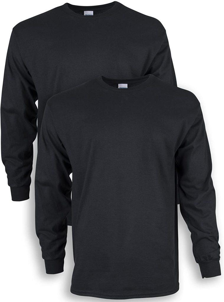 Gildan Men's Ultra Cotton Long Sleeve T-Shirt