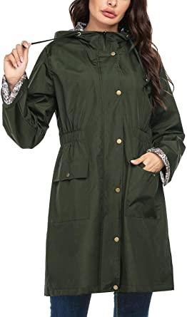 SoTeer Women's Waterproof Raincoat